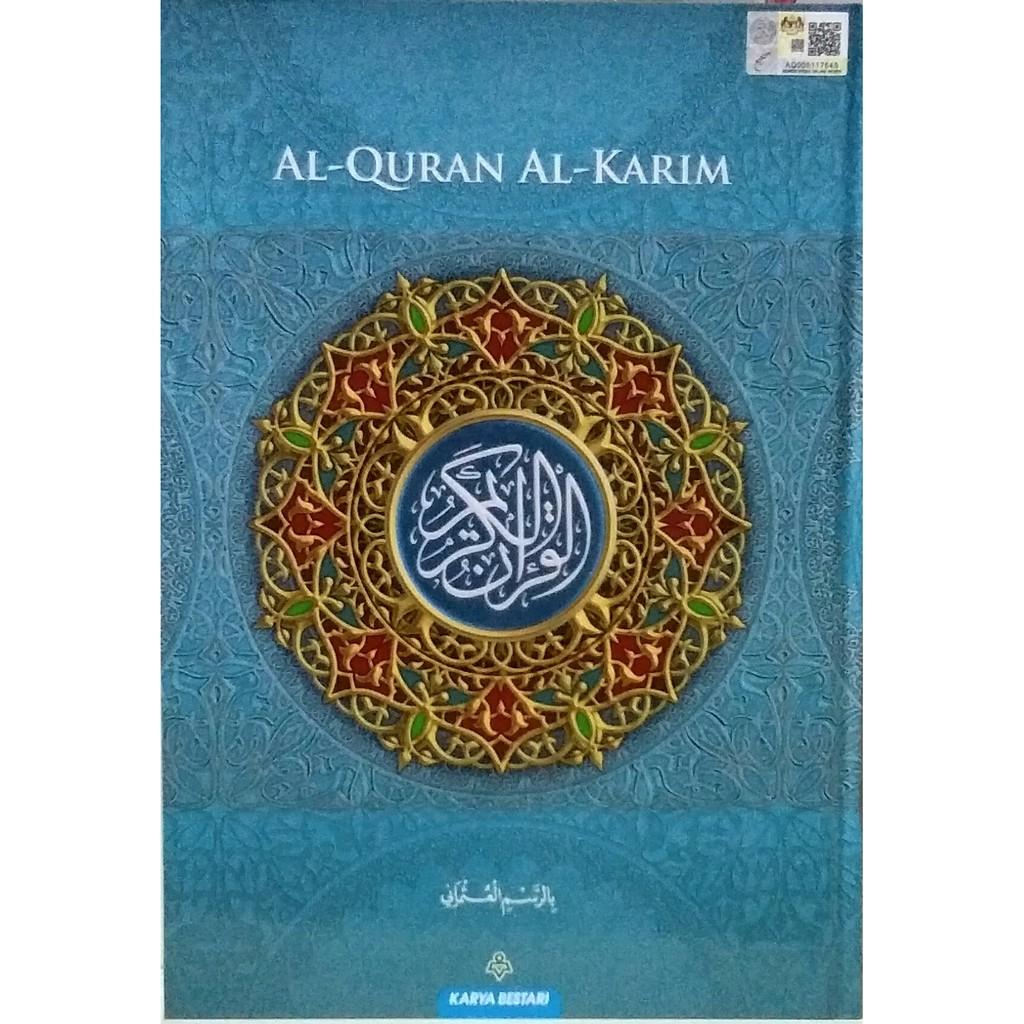 AL-QURAN MURAH KERTAS NEWSPRINT RESAM UTHMANI B5 (Karya Bestari)