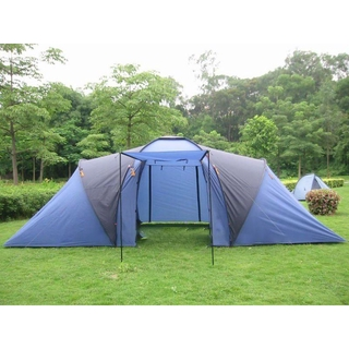 best sneakers b307f f8bd1 big instant 8 man person family camping tent with two room
