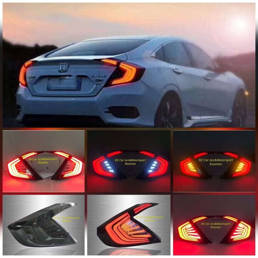 Swift 05-UP LED REAR LIGHT Smoke1 for Suzuki