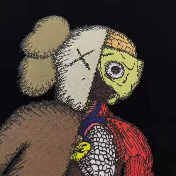 Uniqlo KAWS Hoodies Sesame Street Autumn Winter Couple Round Collar Sweater Toys