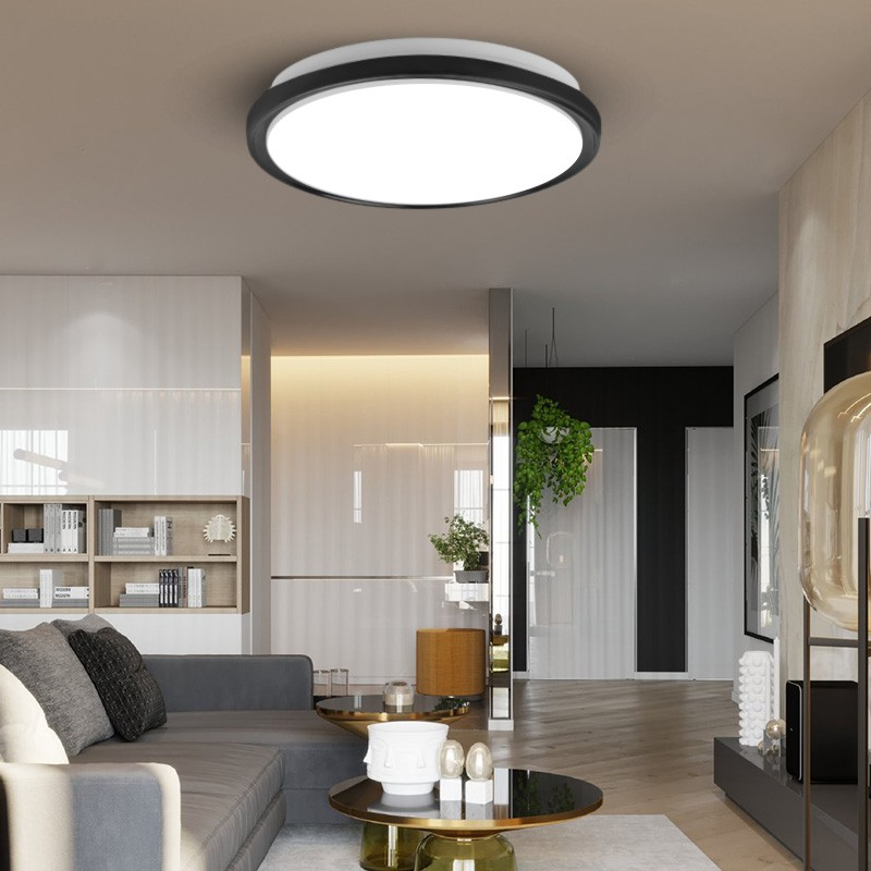 Ultra Thin Led Ceiling Lights Modern Lighting Led Ceiling Lamps For Living Room Bedroom Kitchen Surface Mounted 220v Shopee Malaysia
