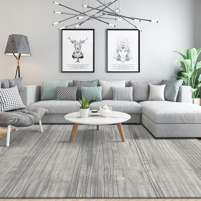 Nordic Living Room Carpet Coffee Table Blanket Home Simple Modern Carpet Ins Win Shopee Malaysia