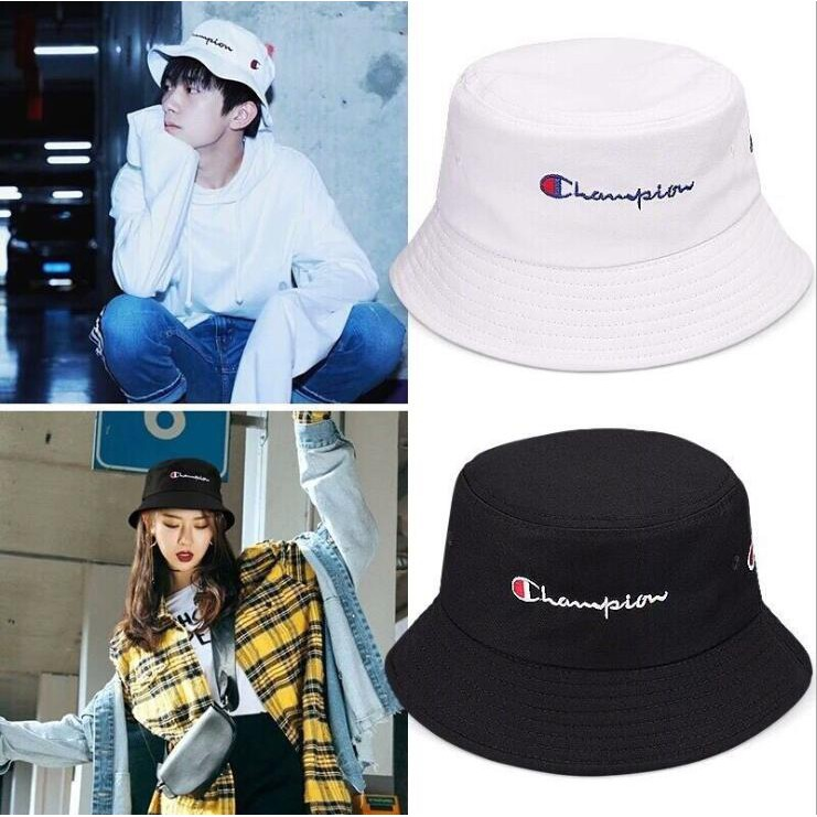 ad0b9dd3f4374b ProductImage. ProductImage. Champion Bucket Hat Men and Women Foldable  Shield Cap ...
