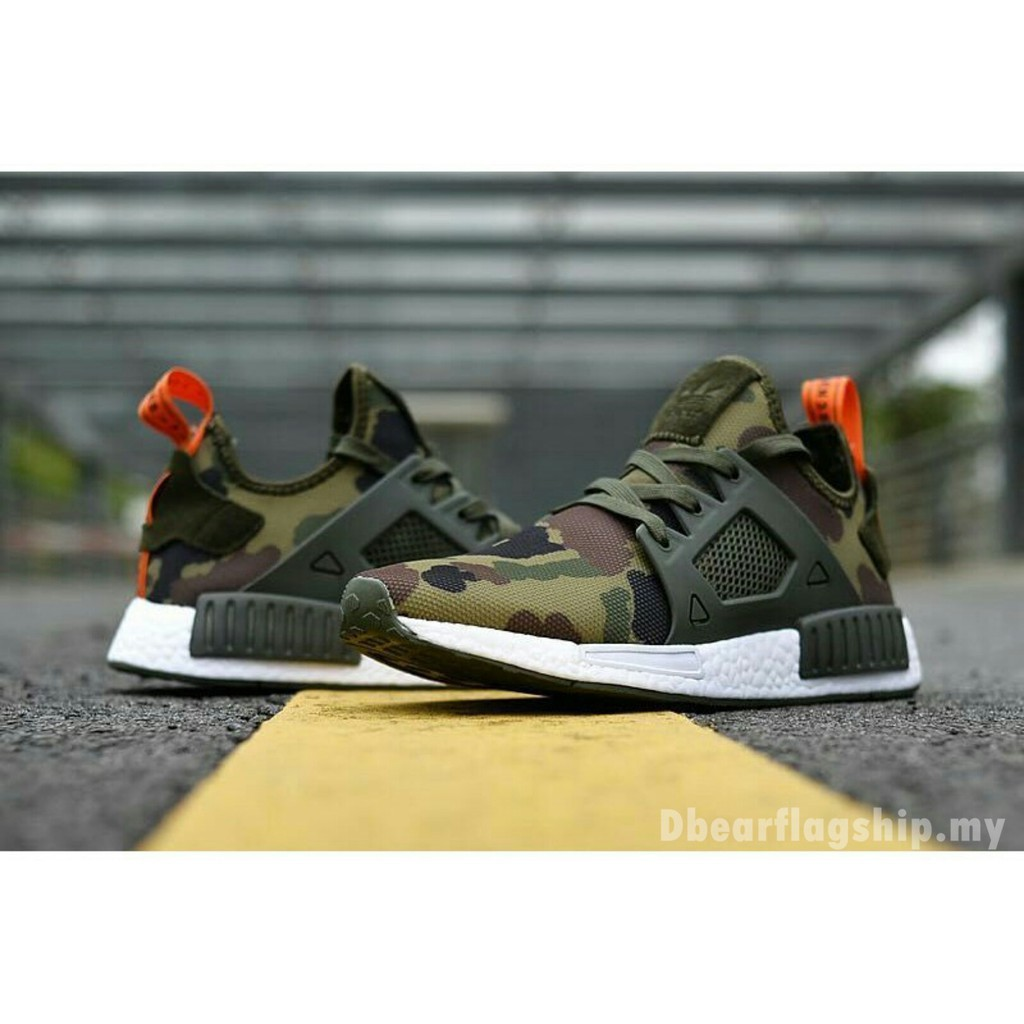 sale retailer 93aed bf52b HOT SALE Adidas NMD XR1 Camouflage Men/Women Shoes running shoes 113%  Original