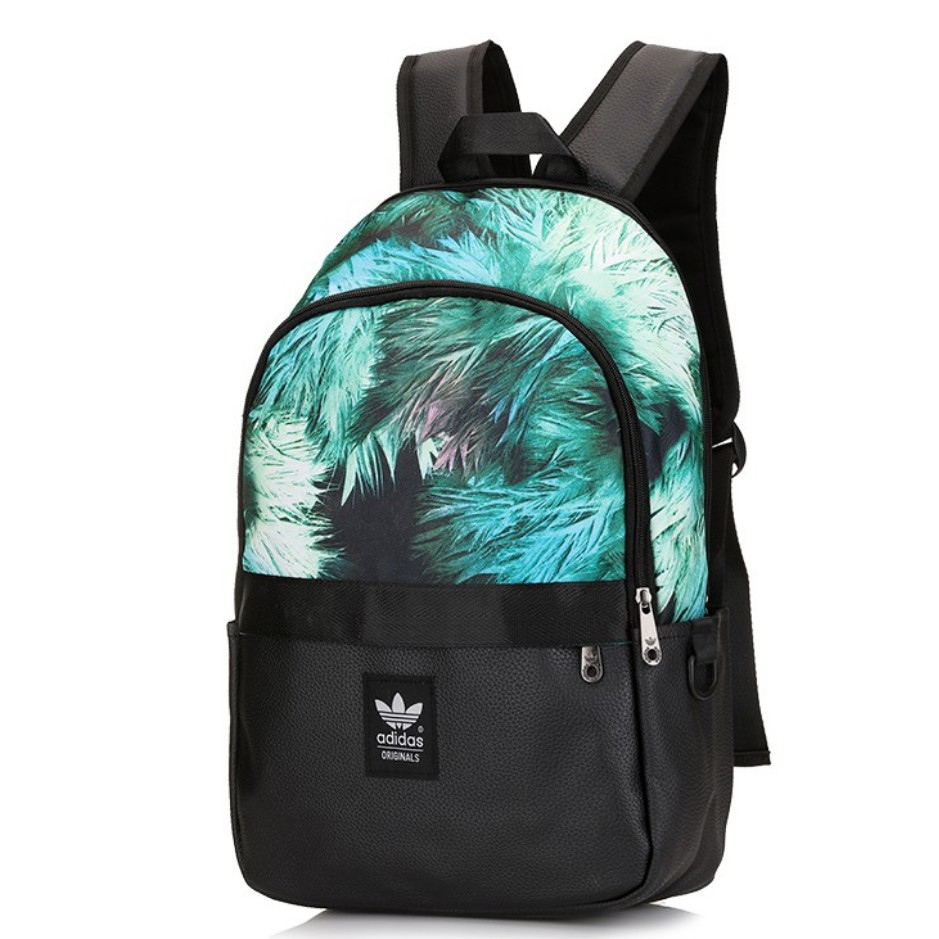 6081df5702 Adidas three stripes leisure travel spots backpack loves Casual school bag