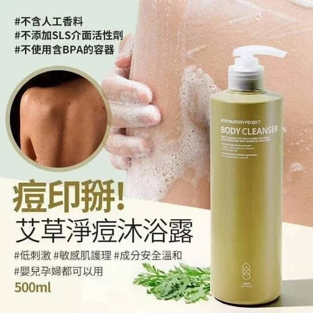 Bodyburden Project Body Cleanser 500ml