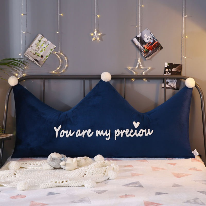Ins Crown Princess Bed Pillows On The