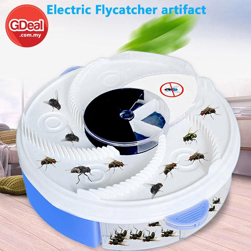 GDeal Electric Flycatcher Automatic Fly Trap Pest Control Catcher Plug Type Mosquito Insect Killer (YD-218)