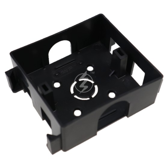 3x3 Conceal Box -Joint / 3x3 PVC Black Box / Single Conceal Base