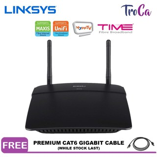 Linksys E2500-AP N600 Dual-Band Wireless Wi-Fi Router with UNIFI , MAXIS ,  TIME Ready