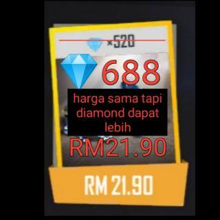 DIAMOND TOPUP GARENA FREE FIRE | Shopee Malaysia