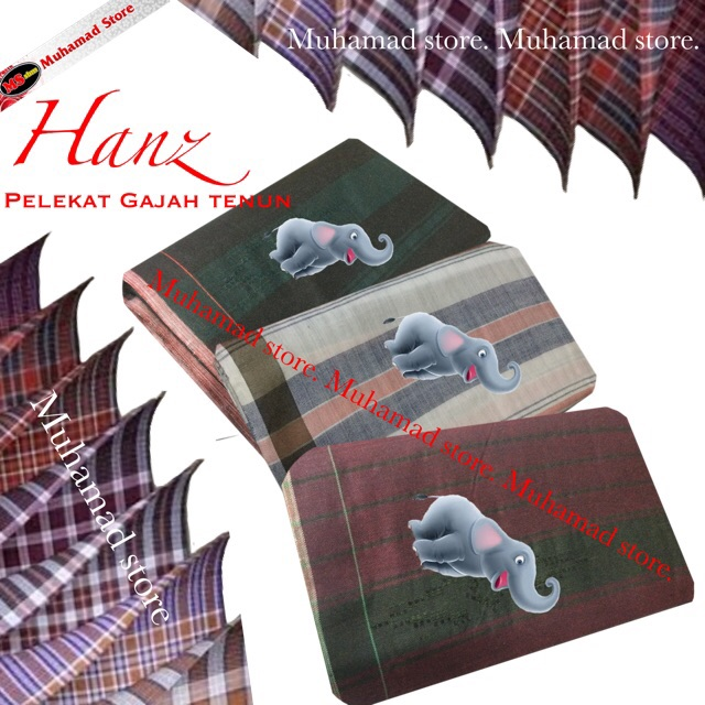 Part 2 Muhamad Store Hanz Pelikat Gajah Tenun Pilihan