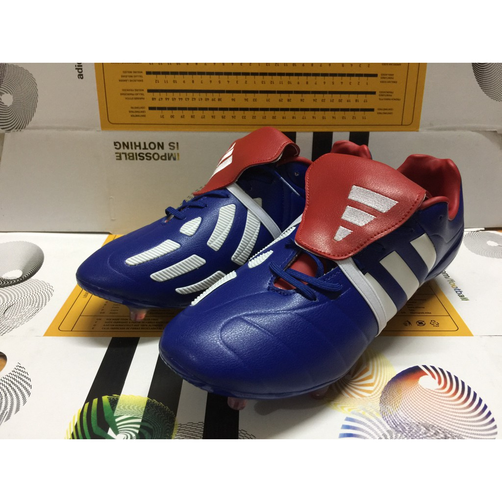 photos officielles a1d2c af174 Ready Stock Adidas Predator Mania Champagne FG men/women's football shoes  39-45