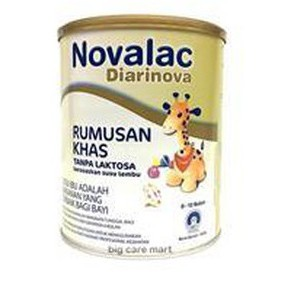 Novalac Diarinova (stop Baby Diarrhoea) (FORMERLY Novalac AD Special Formula) 0 - 12 months 600g