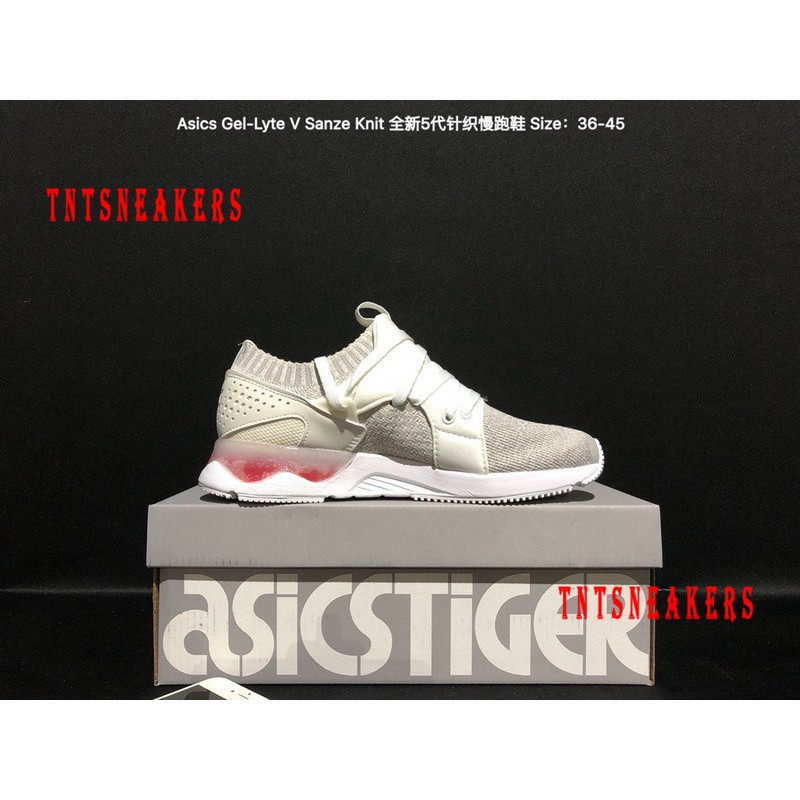 new style 26b75 13791 Original Asics GEL LYTE V SANZE KNIT Sport Running Shoes Sneakers A1314