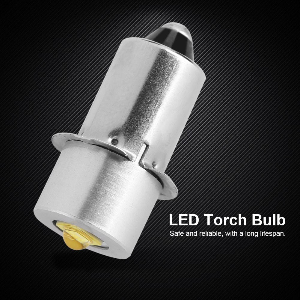 3W Energy-Saving P13.5S LED Flashlight Replacement Bulb Lantern Work Light 4-12V