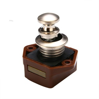 Miley✨Mini Brown Push Button Catch Drawer Cupboard Door