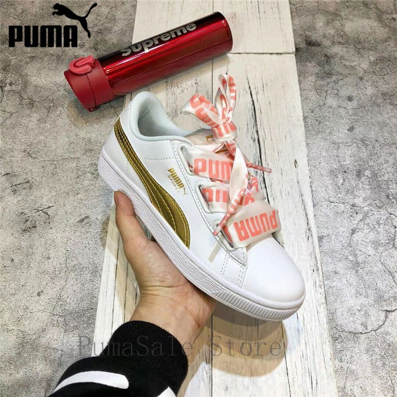 2088cc8f20 tixs 2018 PUMA Basket Heart DE Wn Sneaker Women's Badminton Shoes