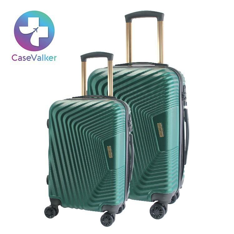Durable 2in1 Set (20'+24'+) Couple Trolley Travel Flight Trip Luggage Hardcase Suitcase Bagasi Beg Balik Kampung Roda