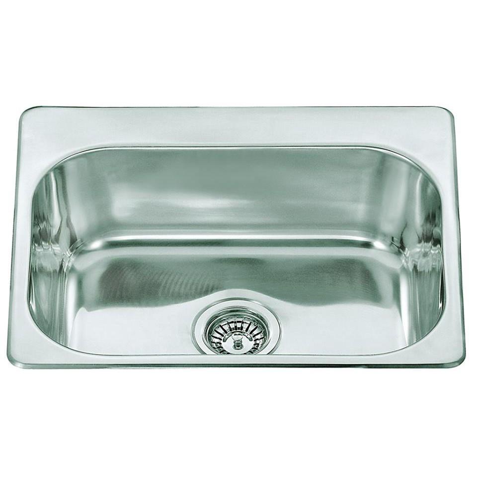 Single Bowl Stainless Steel Sink C/W Waste NKS-884