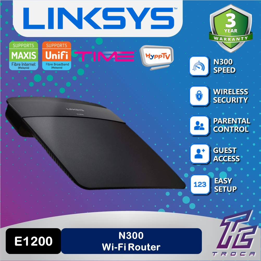 Linksys E1200 Speed