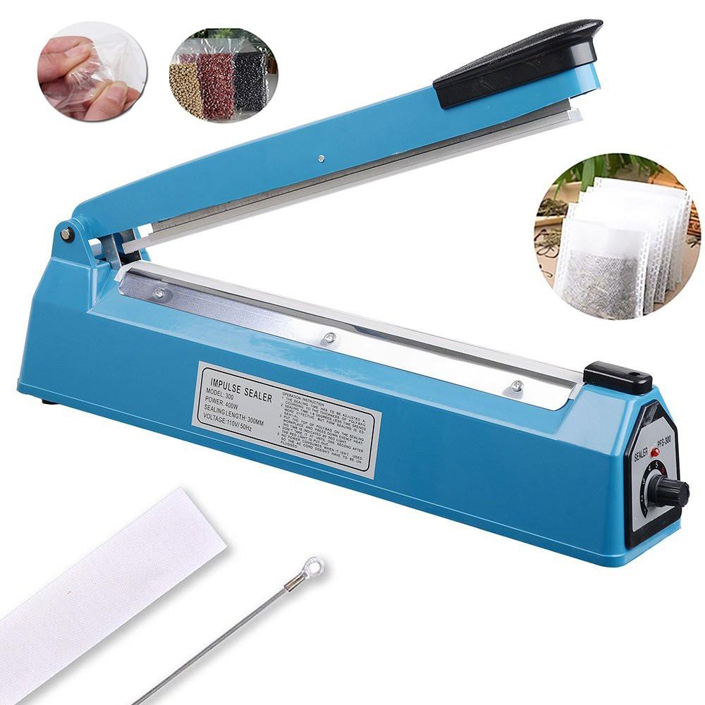 Mini Impluse Sealer Plastic Sealing Handheld Portable Heat Sealing Machine White