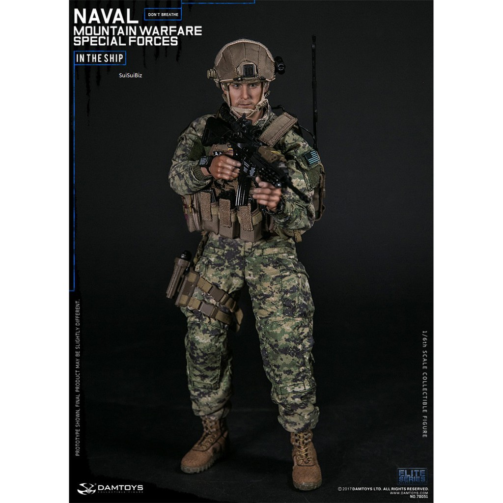 DAMTOYS 78051 1//6 Naval Mountain Warfare Special Forces Figure Air Pack System