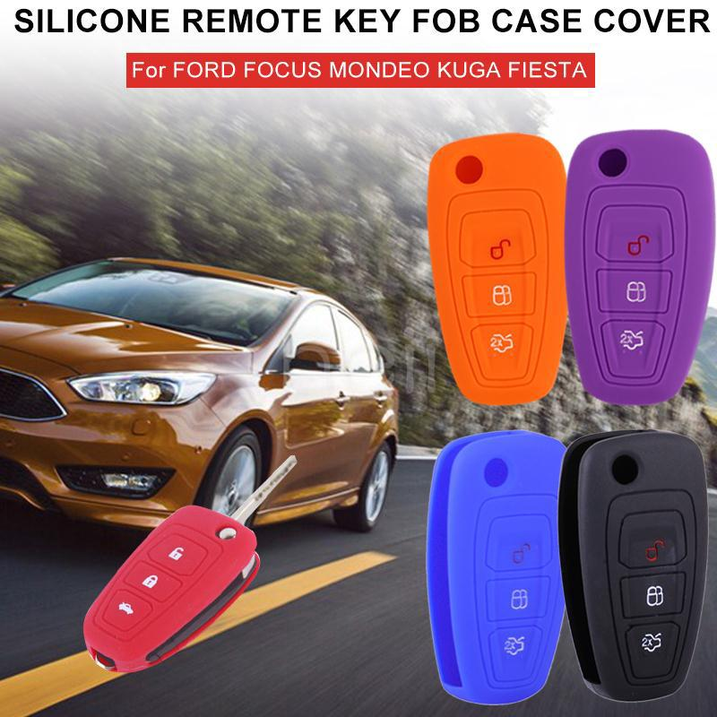 HEY Remote Fob Cover Vehicle Car Key Shell 3 Button Peugeot