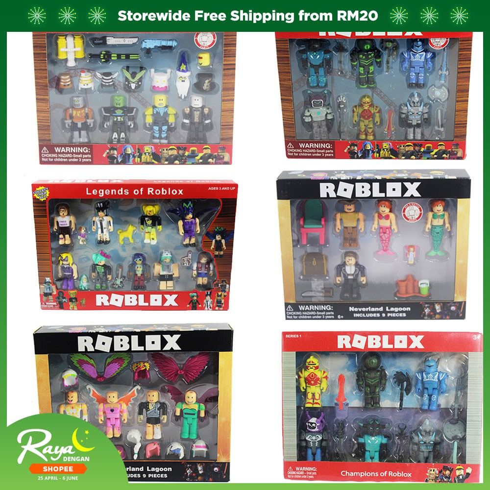 Roblox Figure jugetes 7cm PVC Game Figuras Boys Toys for roblox-game