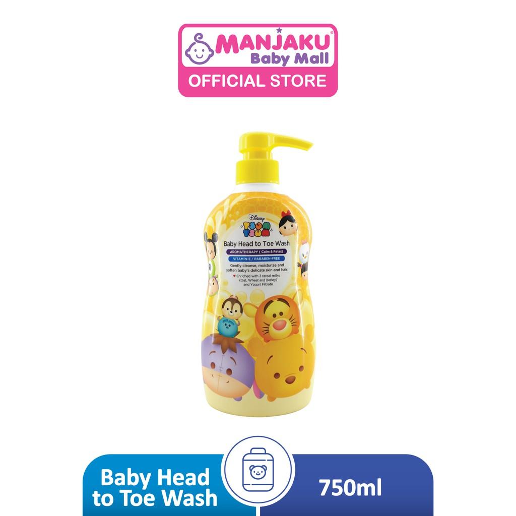 Disney Tsum Tsum Baby Head To Toe Wash (750ml) - Vitamin E / Pareben Free