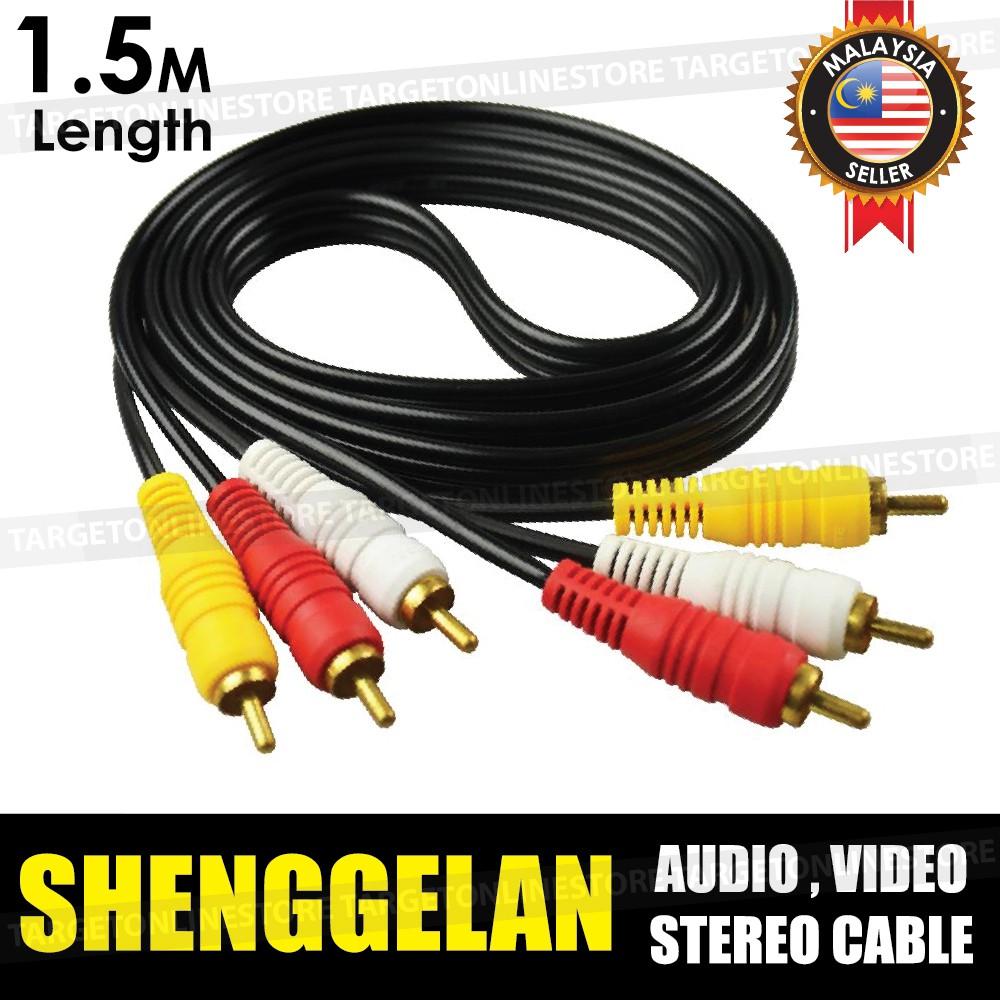 Shenggelan 2m 5m Length Cat 5e Cable Lan Network Internet Ethernet 6m Cat5e Rj45 Patch Lead Wire Shopee Malaysia