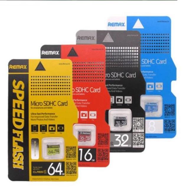 Remax Memory Card 8gb - 64gb