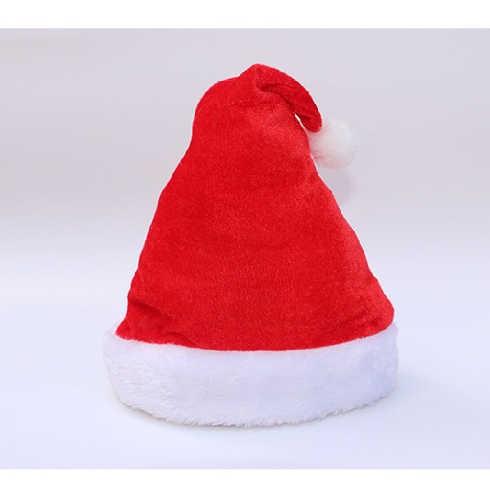 76fe197ae3a81a Christmas hat child adult upscale plush santa hat music festival ...