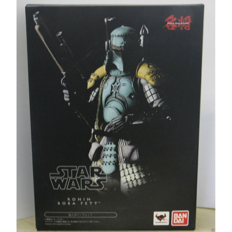 New Star Wars Ronin Samurai Boba Fett Meisho Movie Realization PVC Action Figure