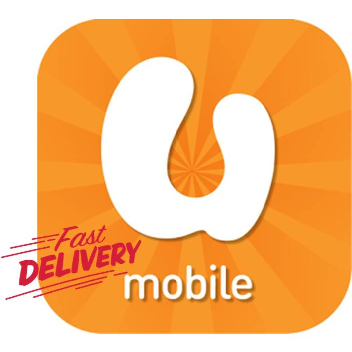 [FAST DELIVERY] INSTANT/ PIN TOP UP U MOBILE PREPAID RELOAD