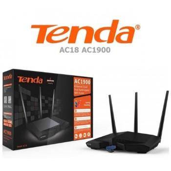 Tenda AC18 AC1900 Smart Dual-Band Gigabit Wifi Router | Shopee ...