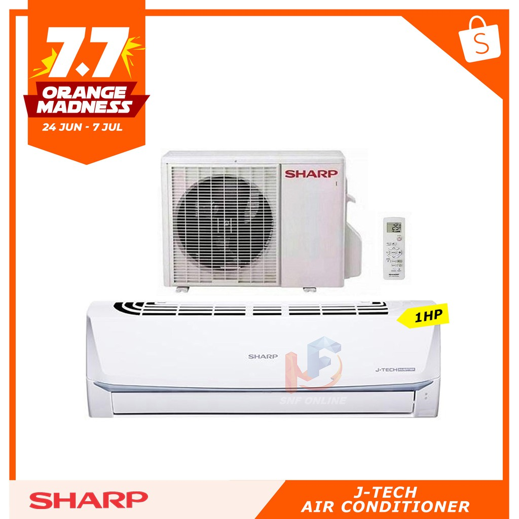 Sharp 1 0HP Inverter Air Conditioner AHX9UED / AUX9UED