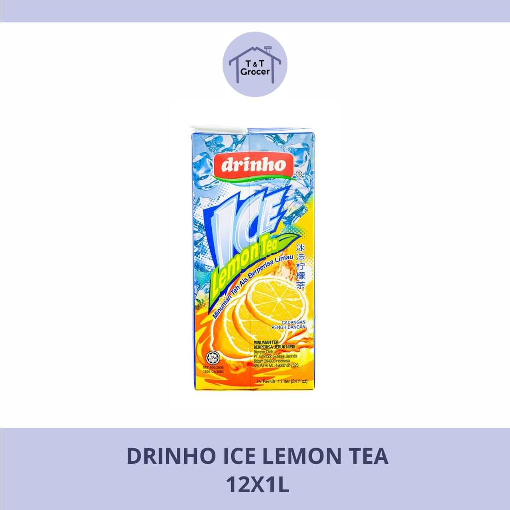 Drinho Minuman 12x1L (Bunga/ Teh Lemon Ais/ Kundur/ Laici/ Soya Bean/ Jagung)