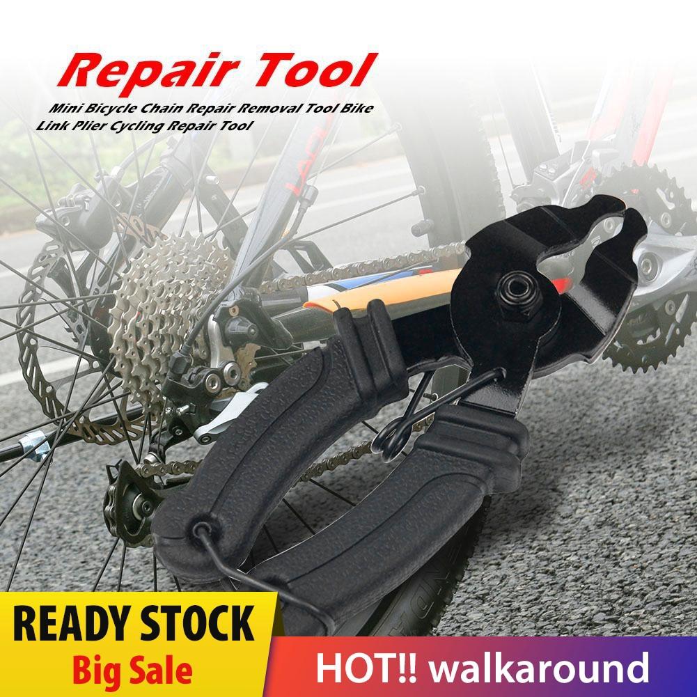 Bicycle Bike Chain Breaker Splitter Cutter Repair Tool Kit Silverline
