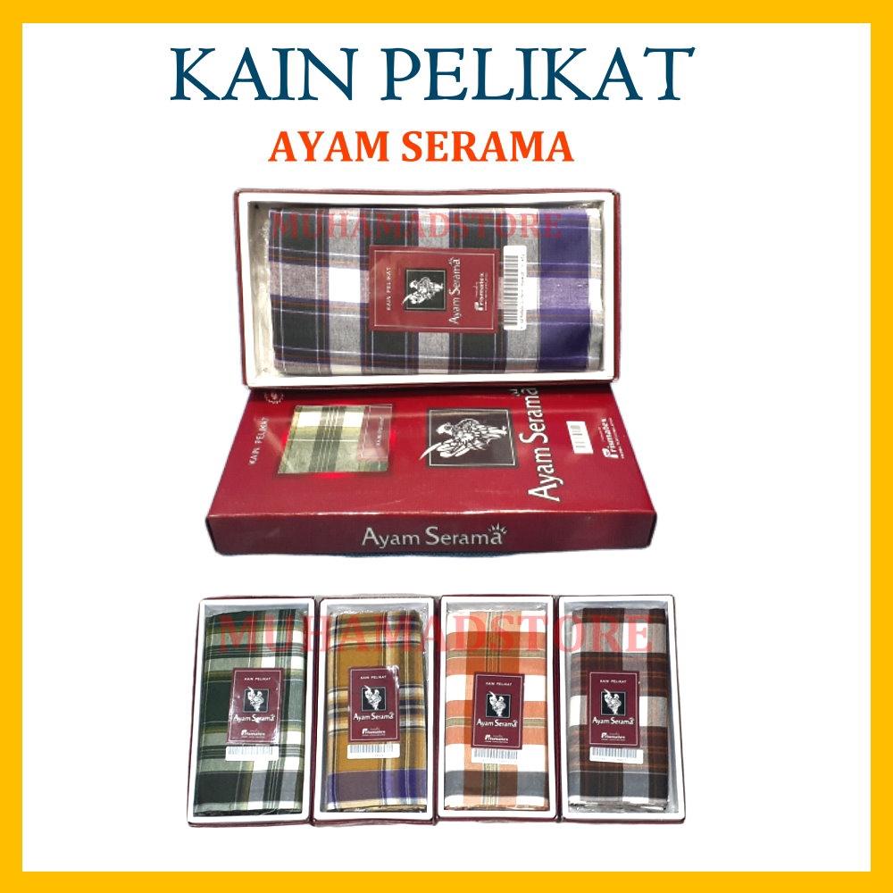 Part 2 Kain Pelikat Ayam Serama (Red Box)