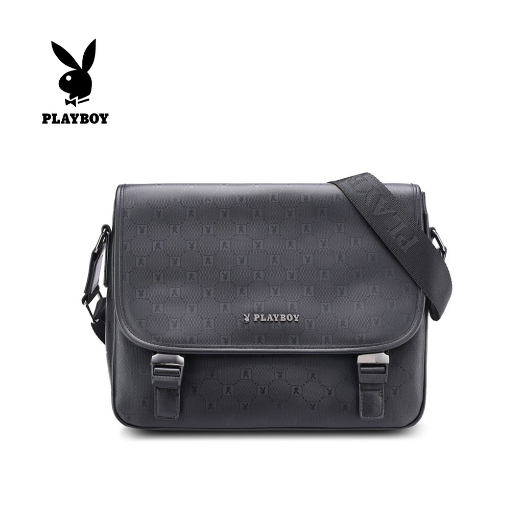 3848734b76 Playboy Sling Bag - Black PFY 9824-1