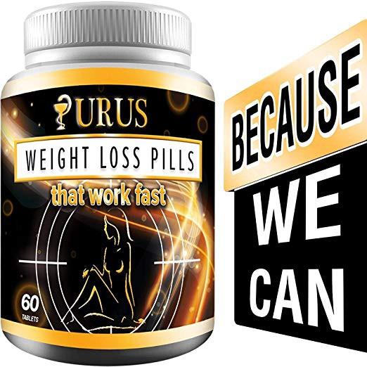 Urus Weight Loss Pills Diet Pills Fat Burner Carb Block Appetite Suppressant Dietary Urus Work Fast For Women And Men