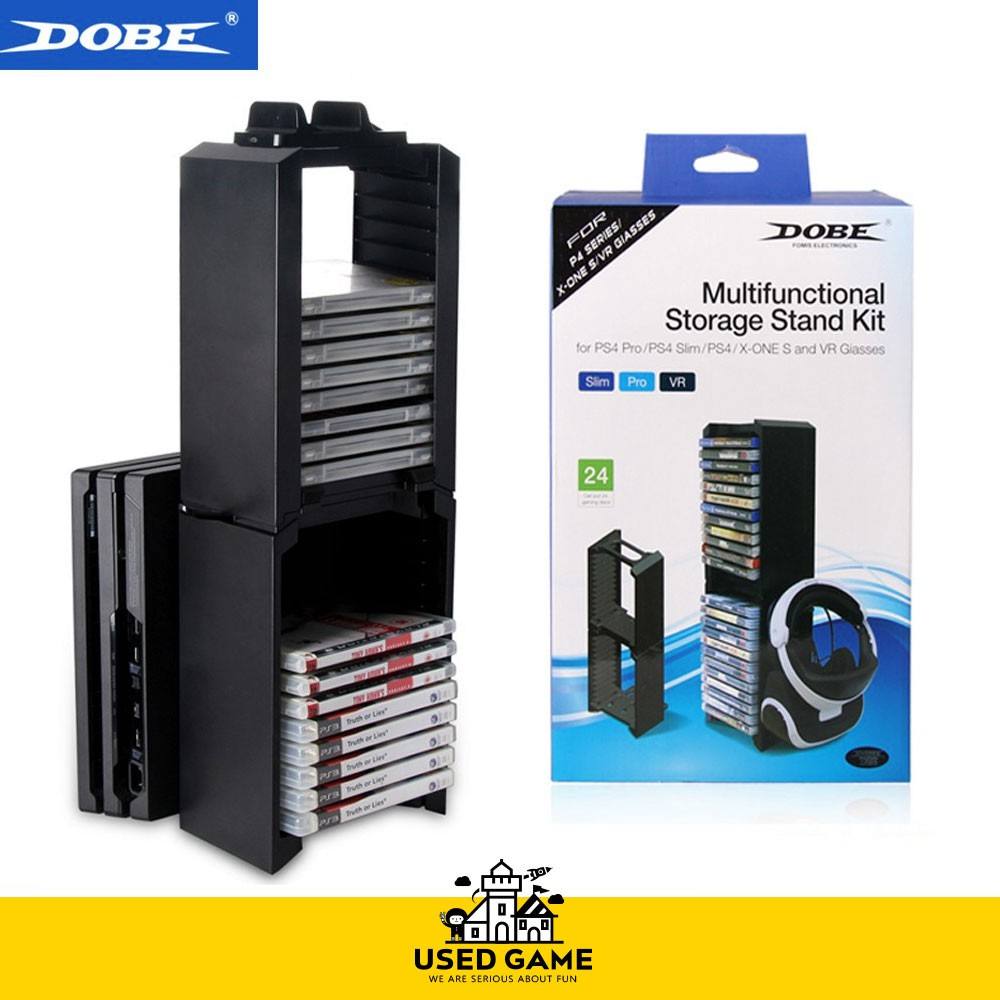Dobe Games Cd Disc Stand For Ps4 Slim Pro Xbox 360 Shopee Multifunctional Storage Kit Malaysia