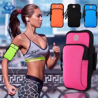 d0da6680d143 wwel Sport Armband Running Gym Arm Band Pouch Holder Bag Jogging ...