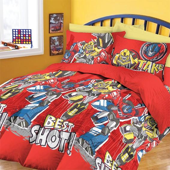 Chester London Transformers 350 Thread Count Super Single Comforter Set