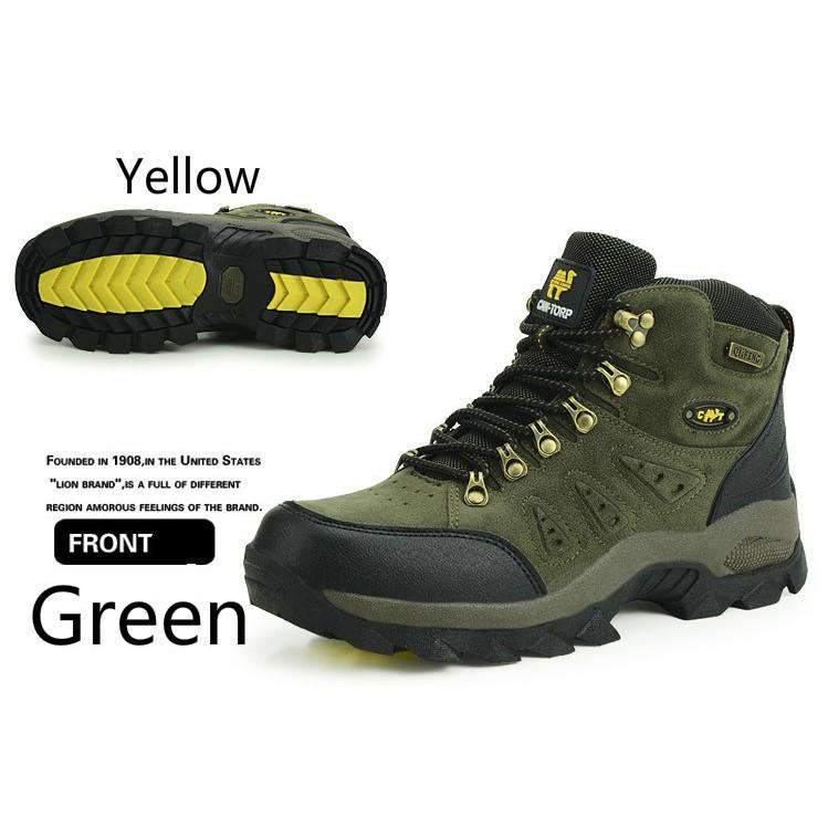 6ab62e8e2a Camel Authentic Men's Outdoor Hiking Shoes Non-Slip Breathable Sport ...