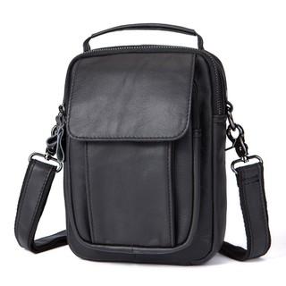 5710da998e75 Men Cross body Shoulder Bag Vintage Sling Bag Fashion Leather Bag ...