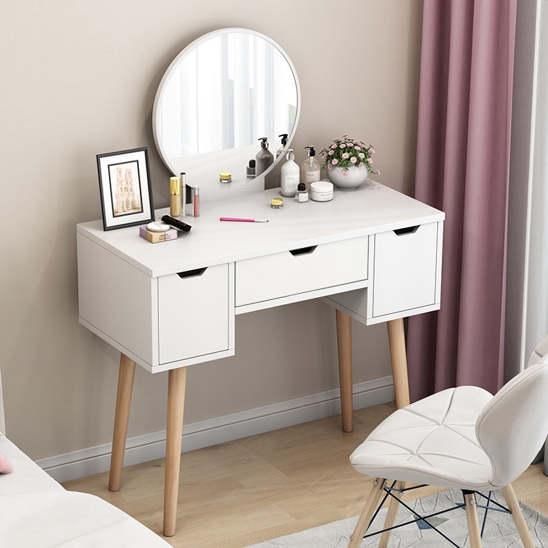 Nordic Simple Dressing Table Bedroom Mini Dressing Table Ins Style Dressing Table Shopee Malaysia