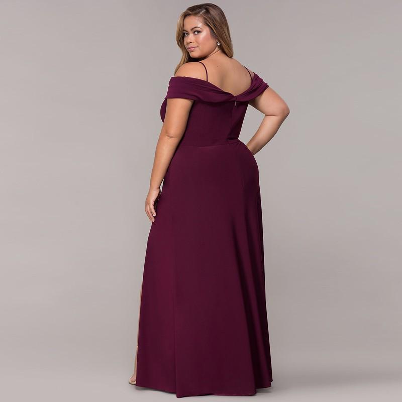 b1e8bc9638 Ready Stock Wome Plus Size A-line Midi Dresses | Shopee Malaysia