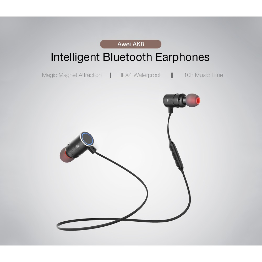 Ak8 Waterproof Magic Magnet Attraction Bluetooth 41 Sports Original Dacom Armor G06 Sport Ipx5 Music Wireless Headphone Headset Earphones Shopee Malaysia
